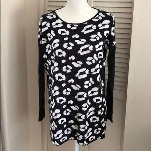 August silk Long sleeve knitted shirt